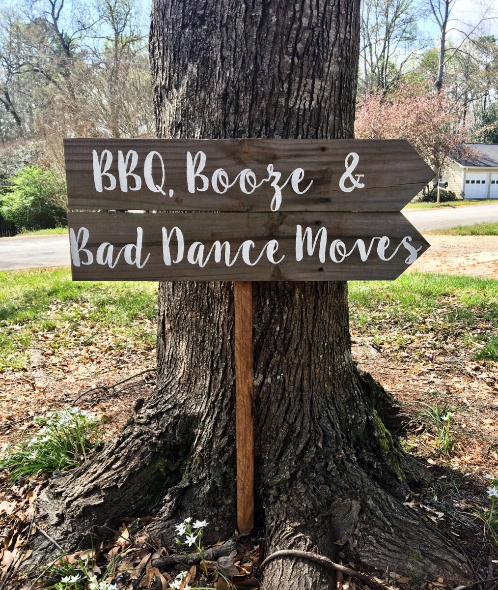BBQ, Booze, & Bad Dance Moves - Barnwood Rust Designs